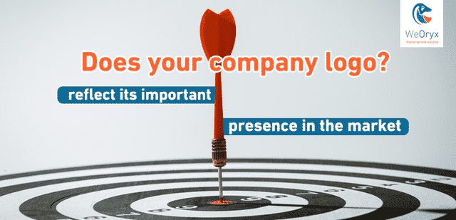 Does your company logo reflect its important presence in the market?