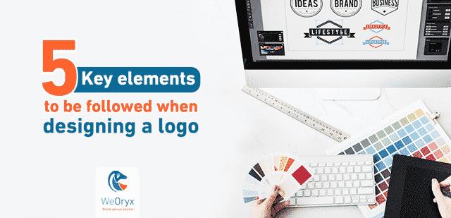 5 عناصر رئيسية يجب أن يتم اتباعها عند تصميم شعار